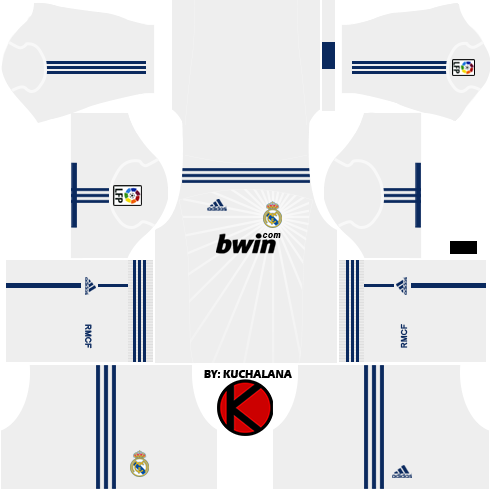 Real Madrid Kits 2010/2011.