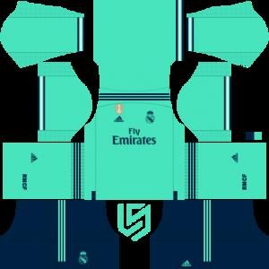 Real Madrid kits 19.