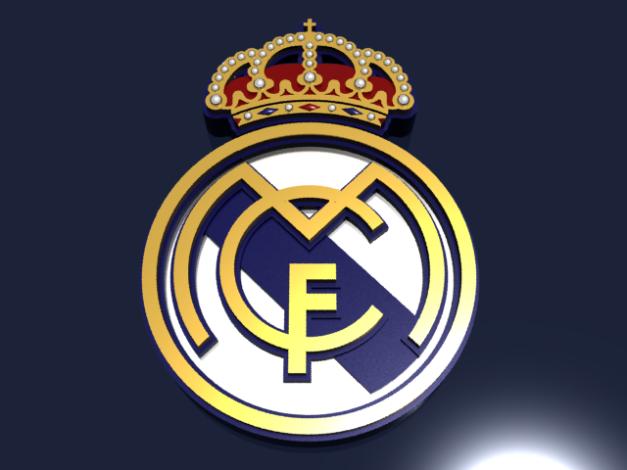Real Madrid CF Logo 3D.