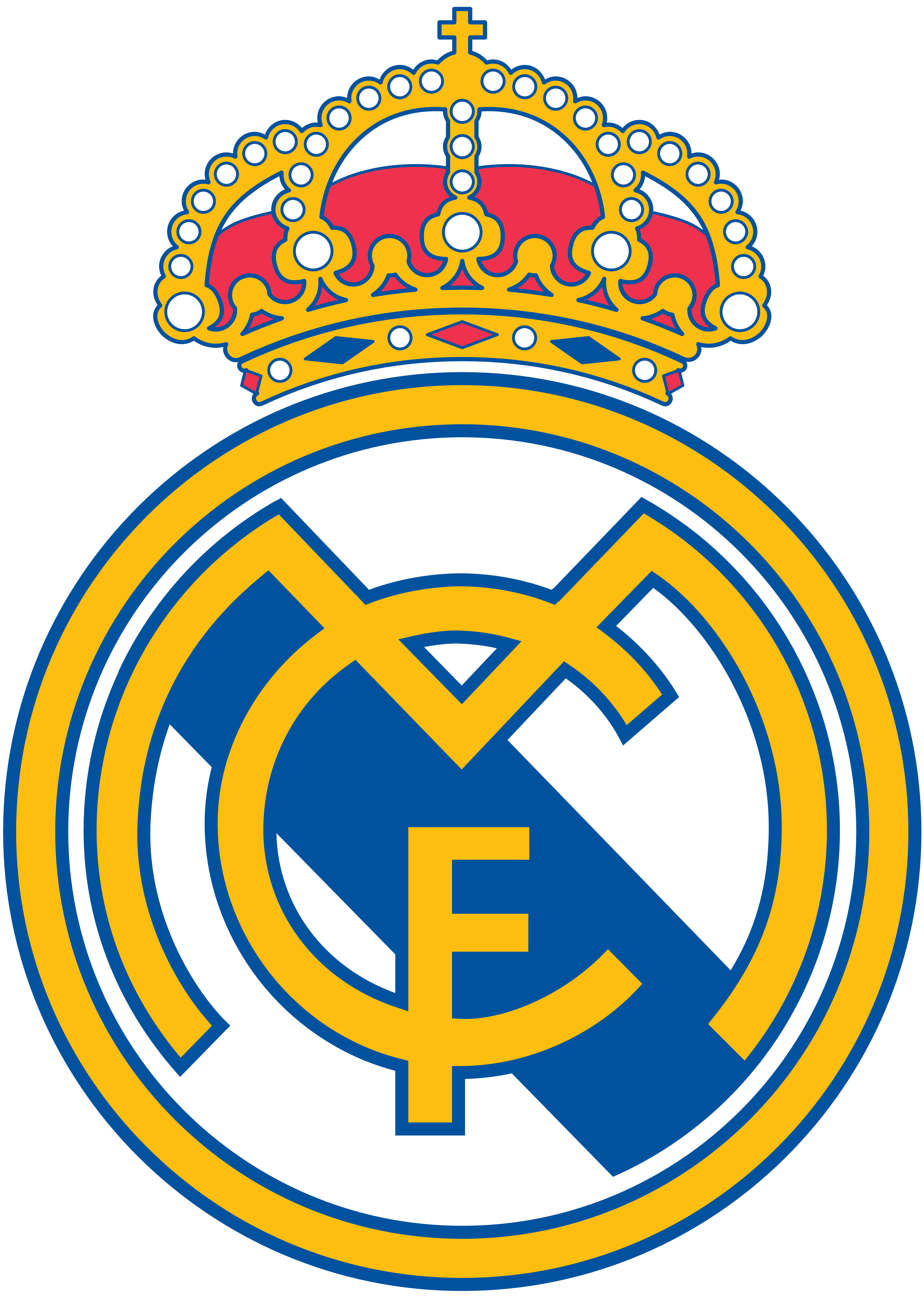 Real madrid logo download free clipart with a transparent.