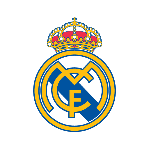 Real Madrid vector logo (.EPS + .AI) free download.