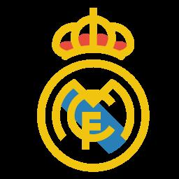 Real madrid Logo Icon of Flat style.