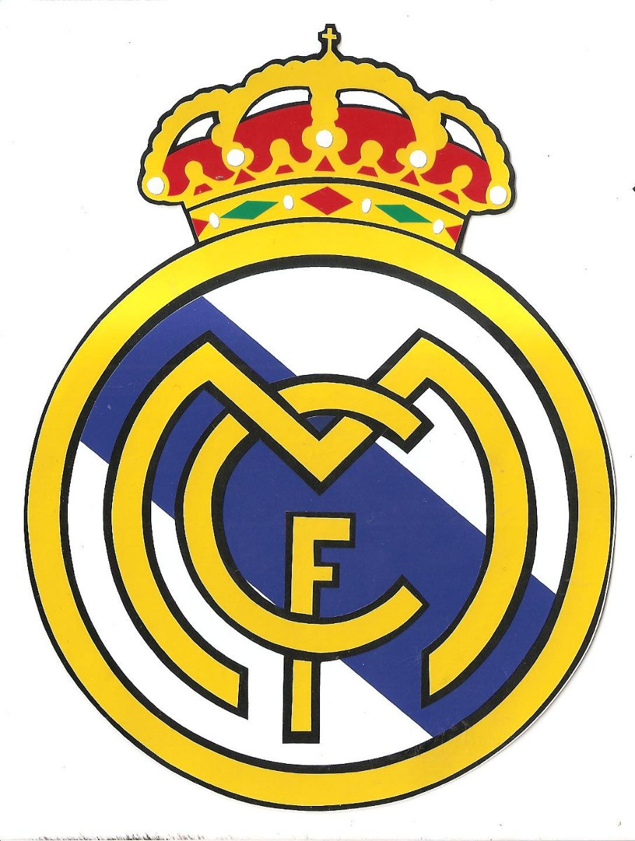 Real Madrid Logo Transparent PNG Pictures.