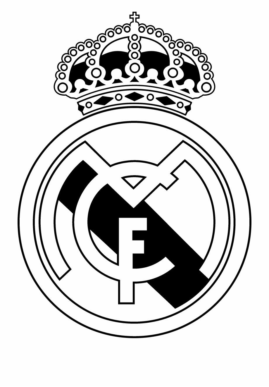 Real Madrid Cf, Madrid, Football, Black And White,.