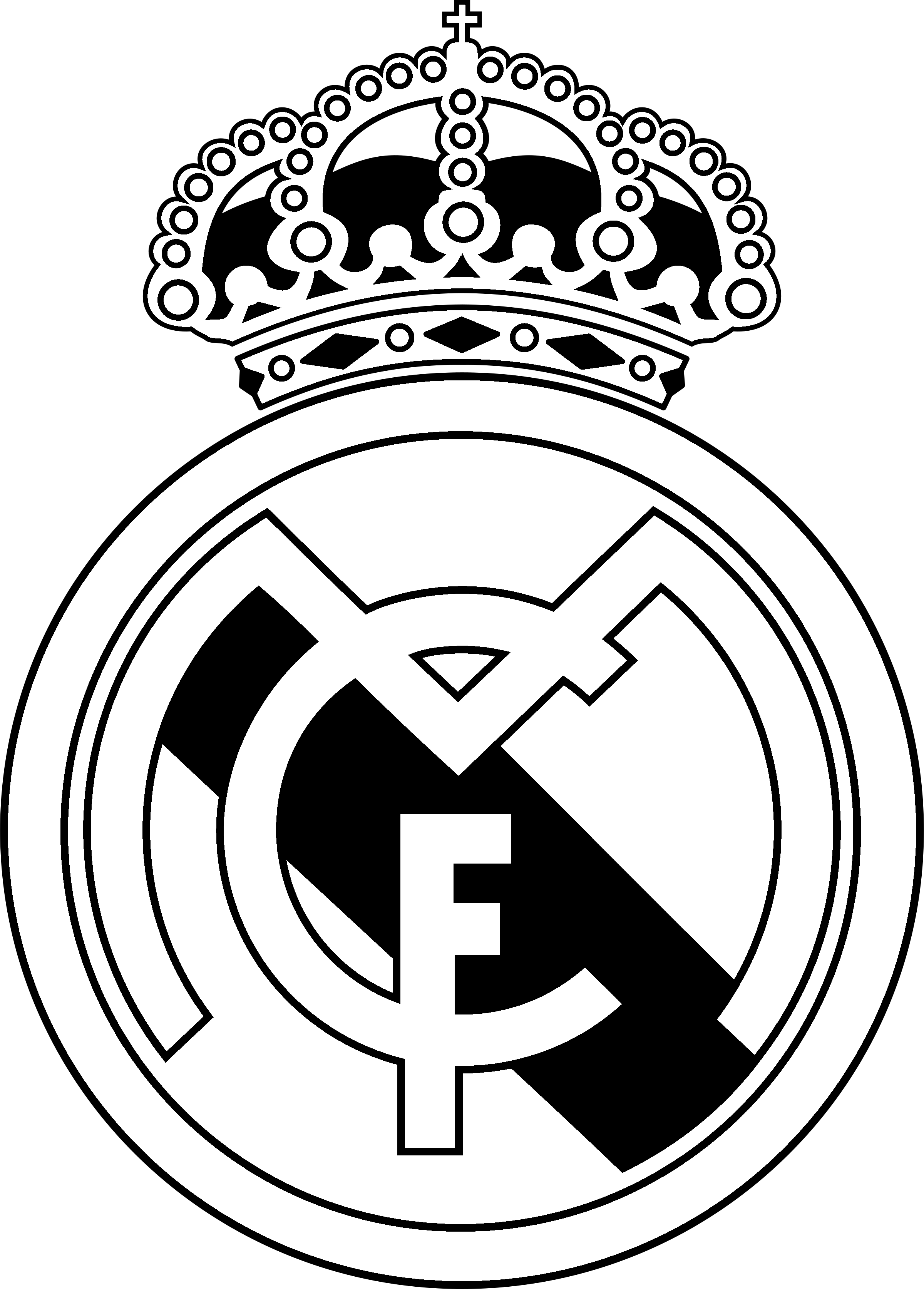 Real Madrid Logo Drawing at PaintingValley.com.