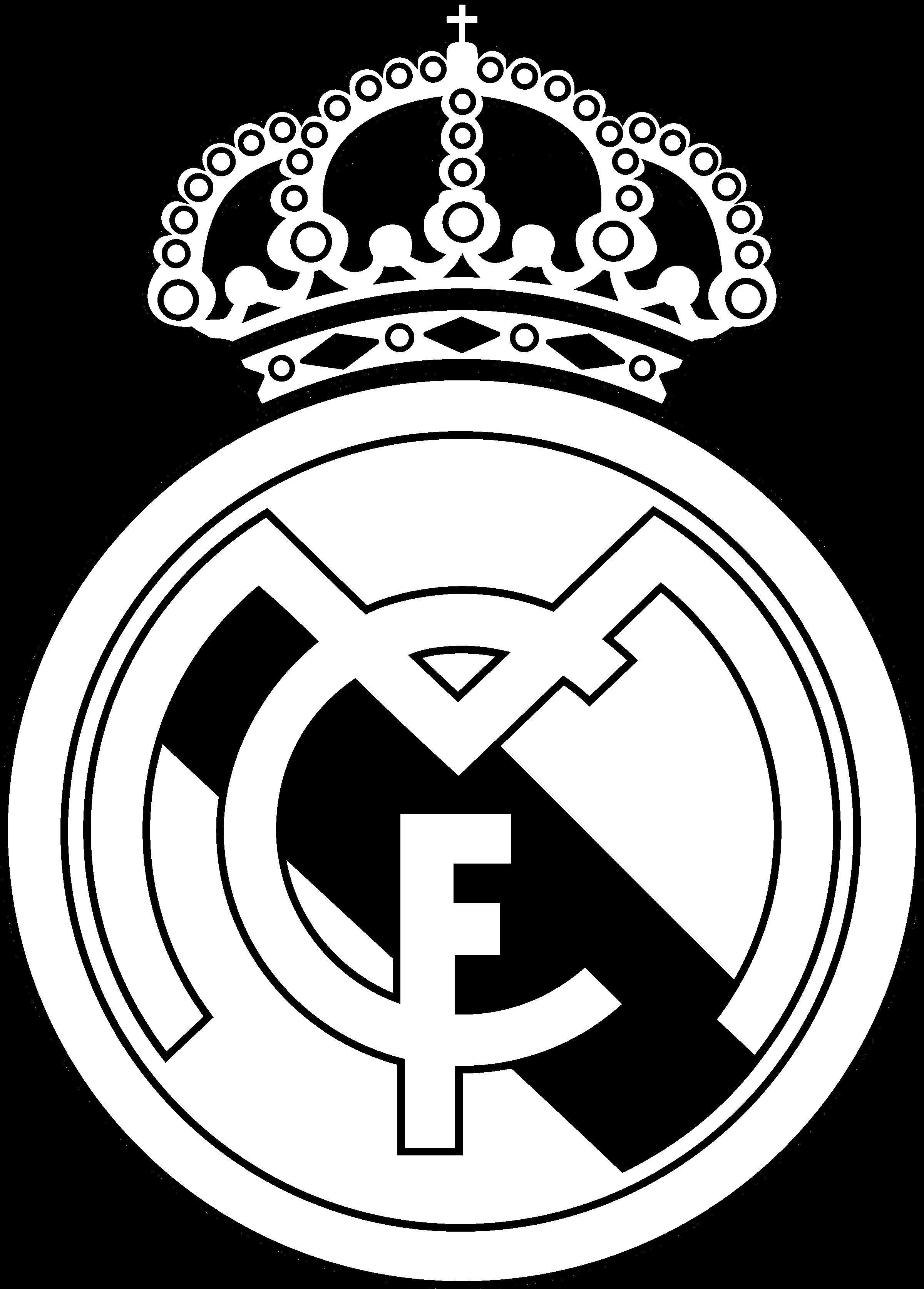 Real Madrid Logo Drawing at PaintingValley.com.