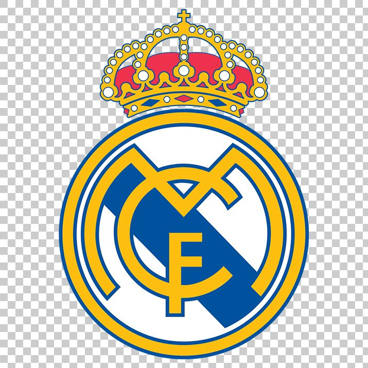 Real Madrid Club Football Logo PNG Image Free Download.