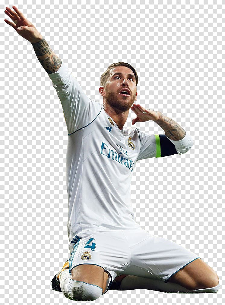 Sergio Ramos Real Madrid C.F. UEFA Champions League Football.
