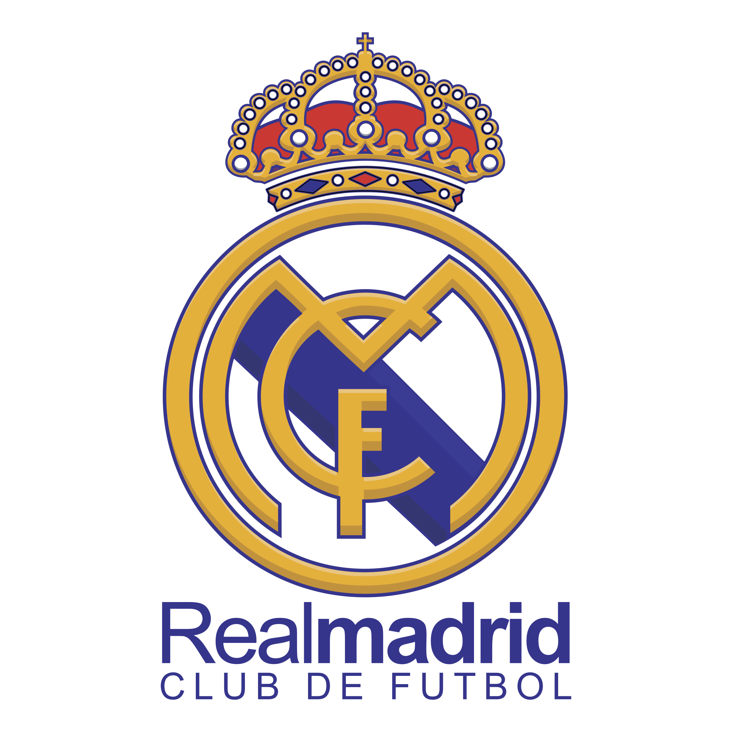 Real Madrid Club De Futbol Png Logo.