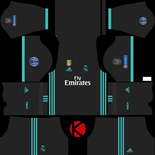 Real Madrid Kits 2017/2018.