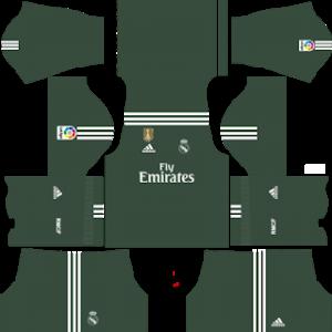 Real Madrid Kits 2017/2018 Dream League Soccer.