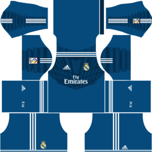 Real Madrid Kits 2014/2015 Dream League Soccer.