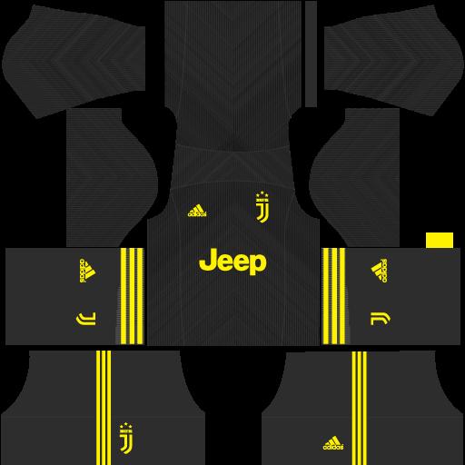 Kit Juventus para DLS 19.