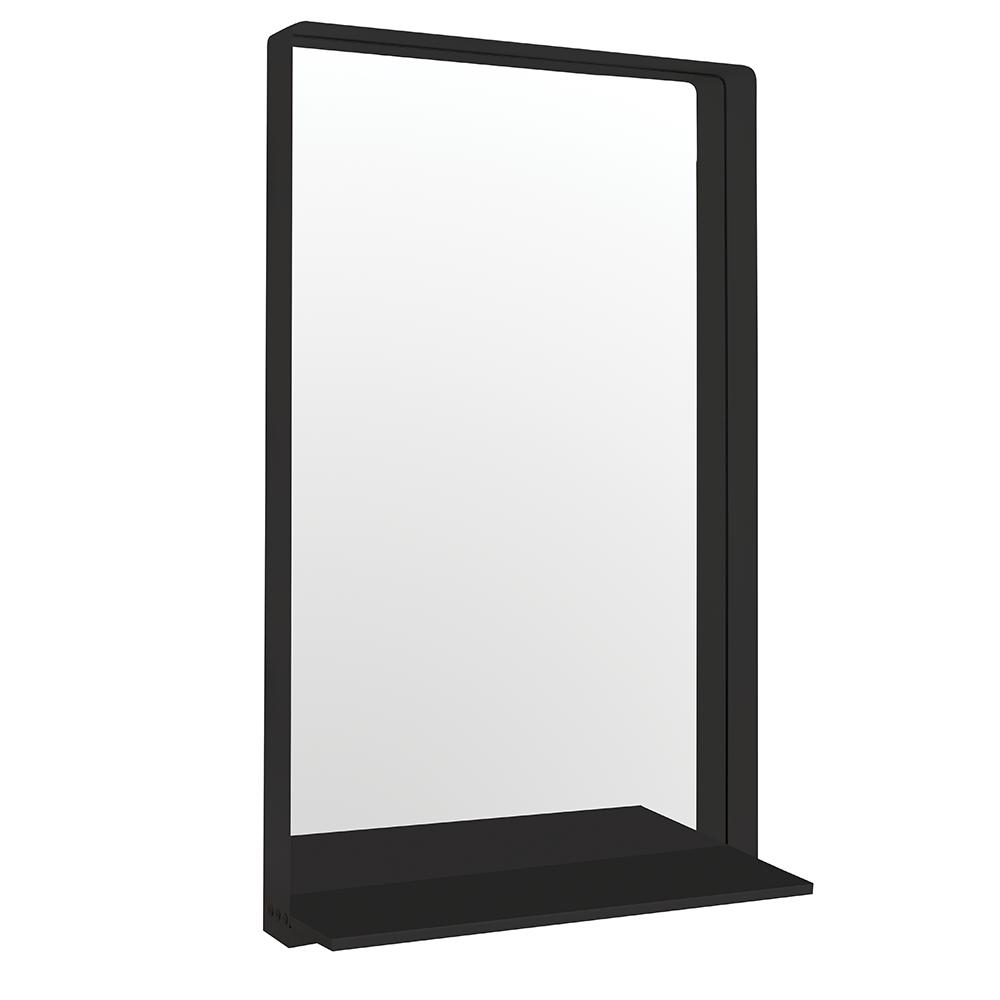 Sienna Black Salon Mirror.