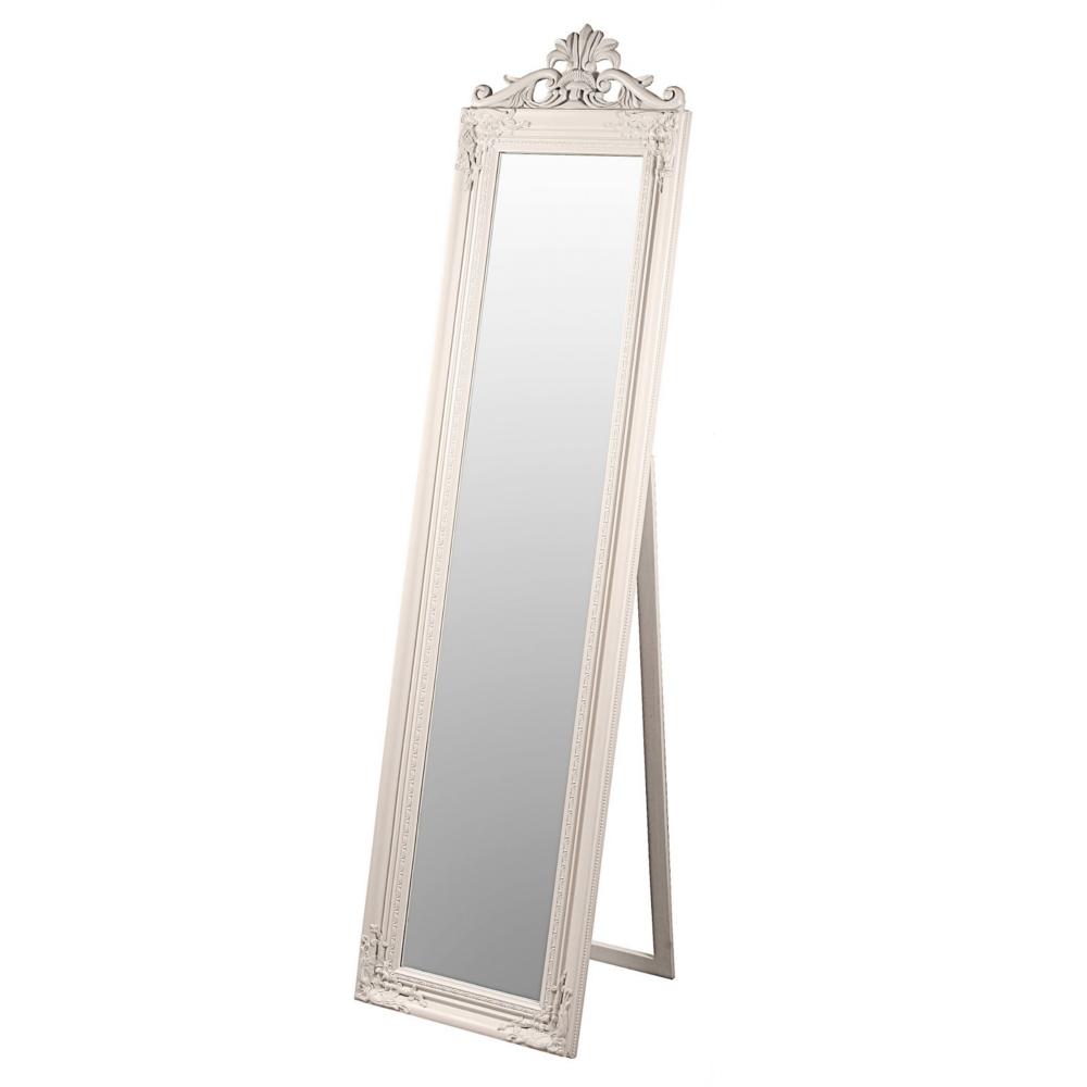 Elizabeth Floor Length Baroque Style Mirror Cream, fabulous.