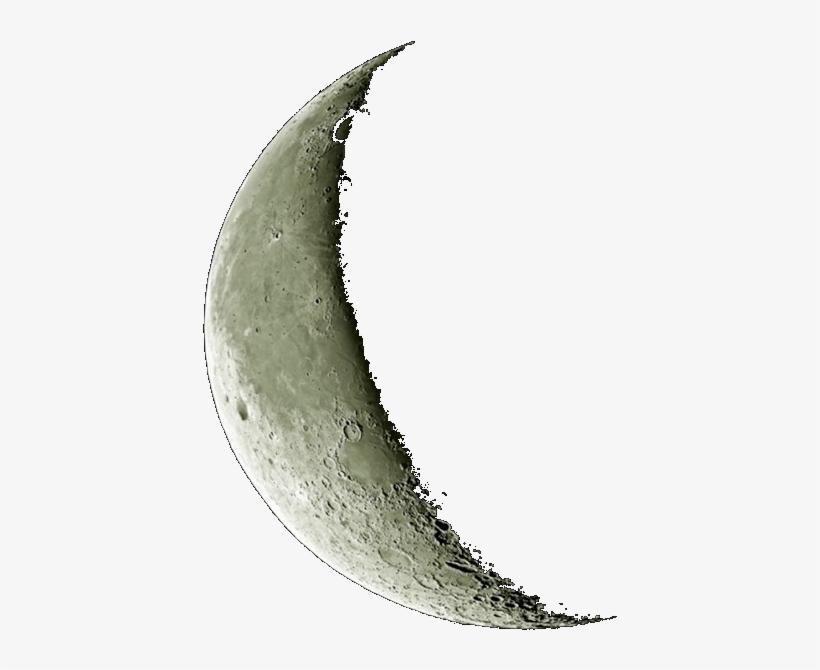 Real Crescent Moon Png Transparent PNG.
