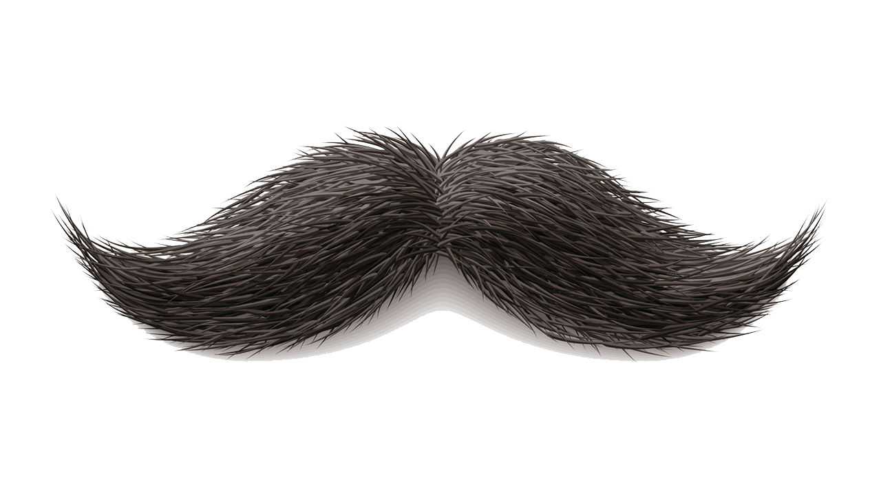 Moustache PNG Transparent Images.