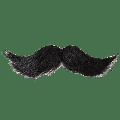 Mustache Black transparent PNG.