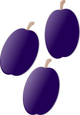 Free Plum Clipart, 1 page of Public Domain Clip Art.