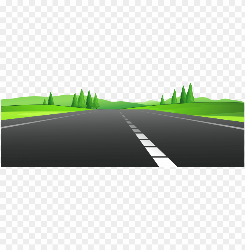 road with grass png clipart.