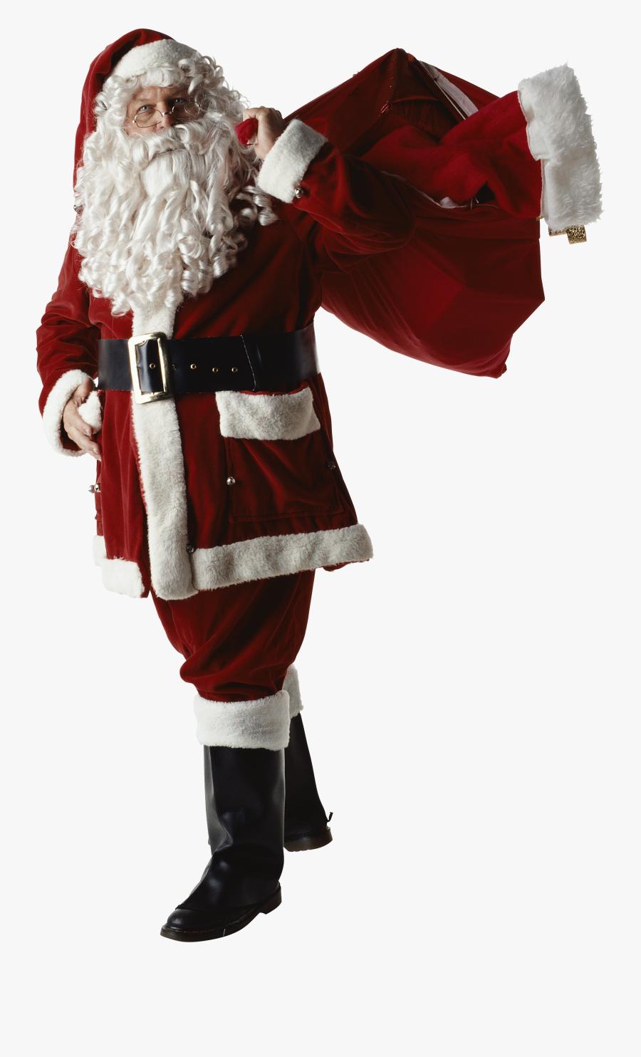 Real Santa Claus Png , Free Transparent Clipart.