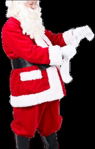 Real Santa Claus Png Clipart.