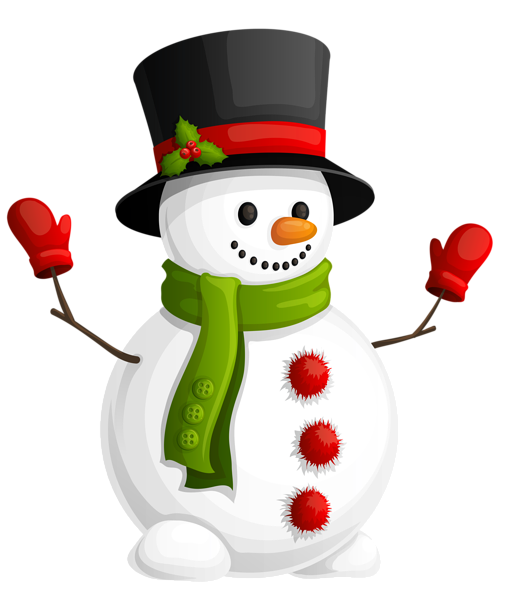 Image result for transparent christmas snowman clipart.
