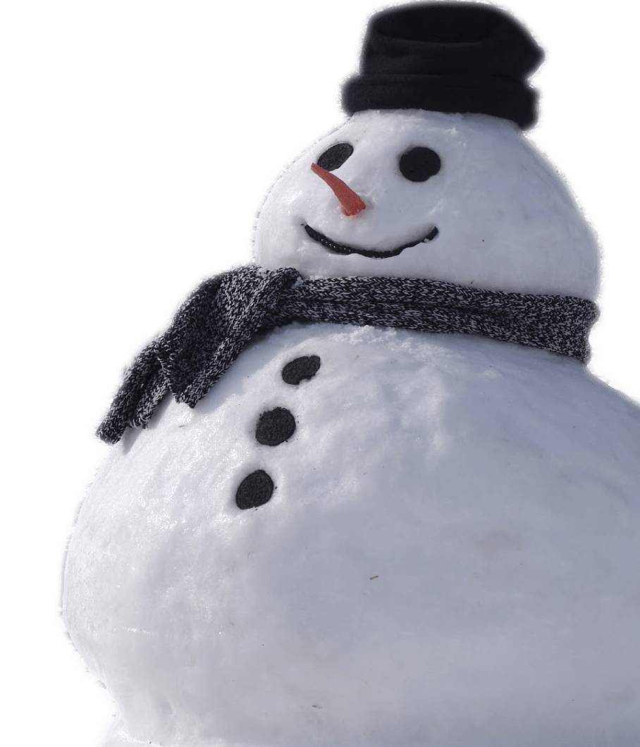 Snowman Real transparent PNG.