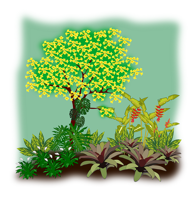 Free vector graphic: Clip Art, Flora, Landscape.