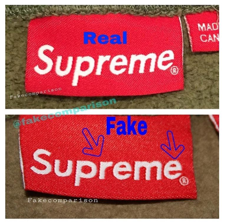 How to Spot Fake Supreme.