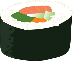 Sushi clipart #SushiClipart, Food clip art photo.