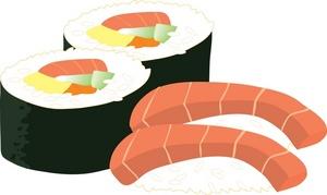 Sushi Clipart Image.