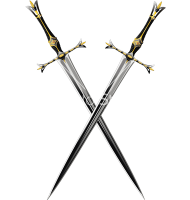 Similiar Two Crossed Swords Real Keywords.