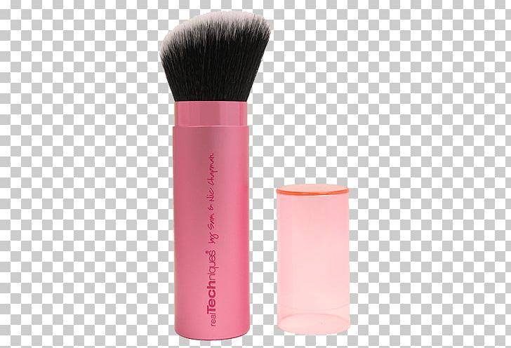 Real Techniques Retractable Kabuki Brush Makeup Brush PNG.