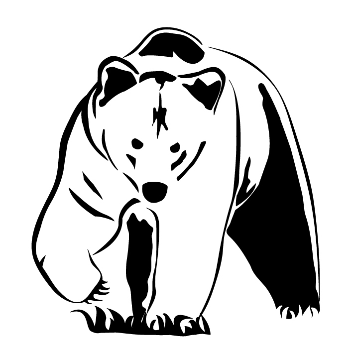 Realistic Animal Clipart Black And White.