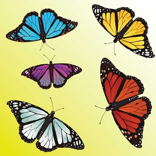 Butterfly Clip Art: 56 Vector Graphics to Download.