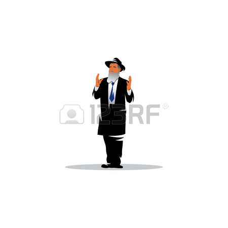 440 Orthodox Jew Stock Vector Illustration And Royalty Free.