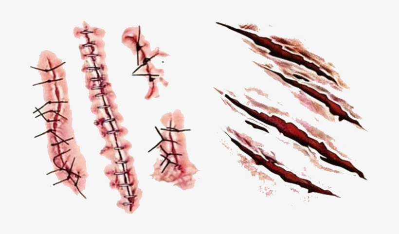 Realistic Scar Png PNG Images.