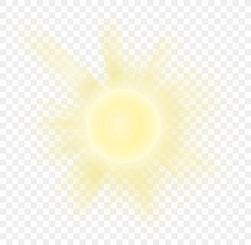 Sunlight Yellow, PNG, 2286x2228px, Light, Halo, Luminous.
