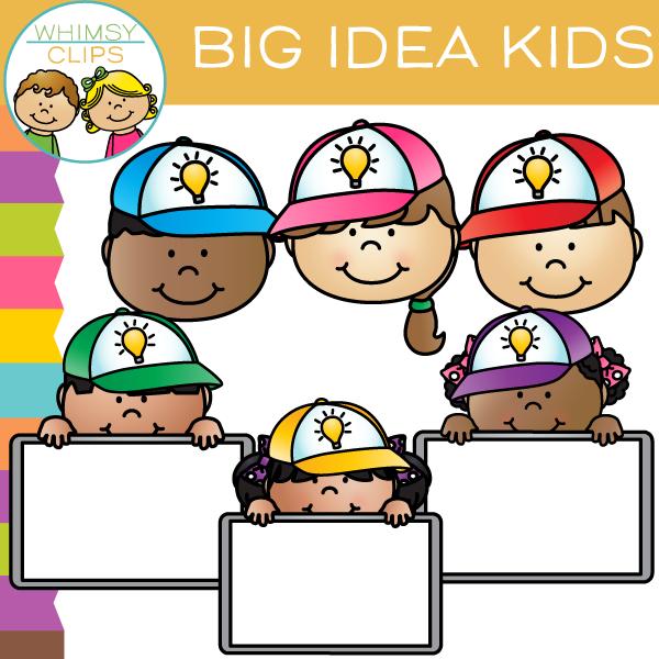 Big Idea Kids Clip Art Freebie , Images & Illustrations.