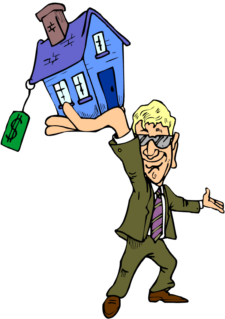 Real estate clipart image.