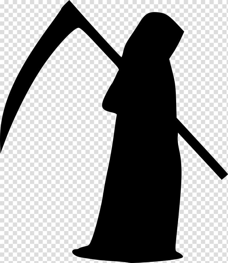 Silhouette of Grim Reaper , Death , Grim Reaper transparent.