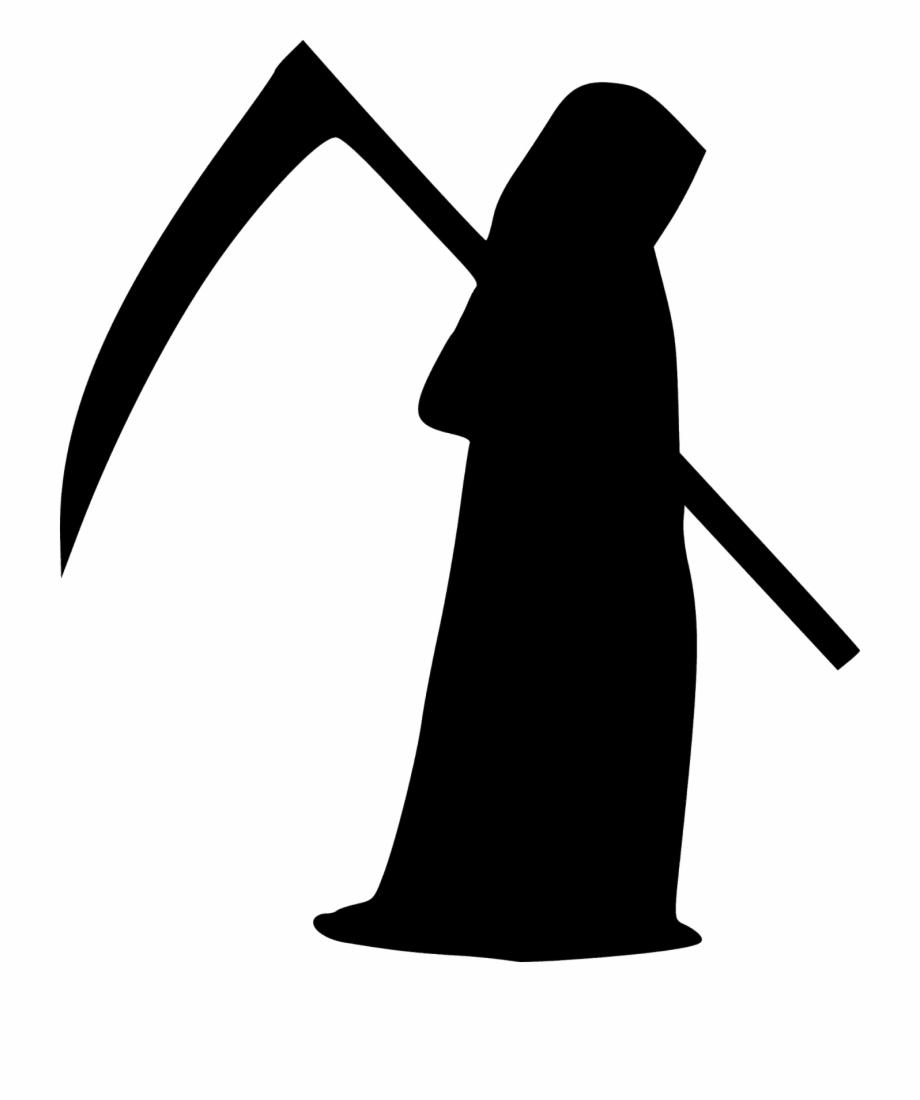Death Grim Reaper Reaper Scythe Silhouette.