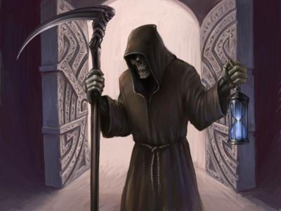 Download Grim Reaper PNG File.