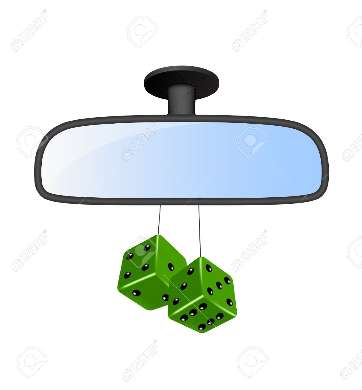 Rearview clipart #9