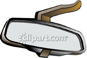 Rear View Car Clipart.