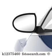 Rear view mirror Stock Illustrations. 106 rear view mirror clip.