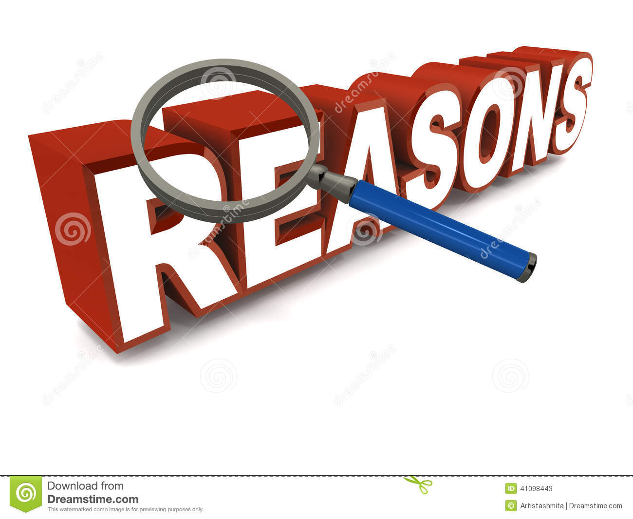 Reasons clipart.