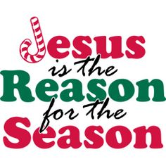 Jesus is the reason for the season clip art free.