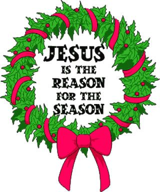 Jesus is the Reason for the Season clip art.